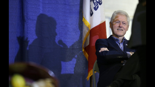 President Bill Clinton to appear in Memphis on campaign trail