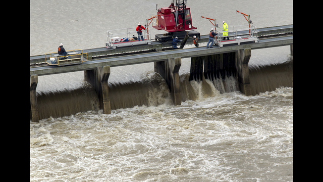 Bonnet Carre Spillway in New Orleans Opened Due to Rising Water Levels