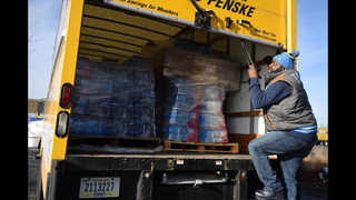 Extra transportation needed to get water to Flint