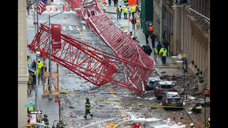 Officials working to determine cause of NYC crane collapse