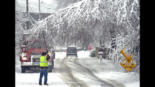 New England digs out from first big snowfall of season