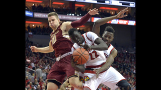 No. 19 Louisville rolls past Boston College 79-47