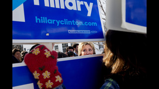Clinton seeks to cut into Sanders