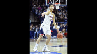 Nurse scores 20 as UConn routs East Carolina 92-46