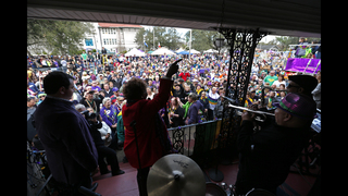 Mardi Gras season rolls into last big weekend in New Orleans