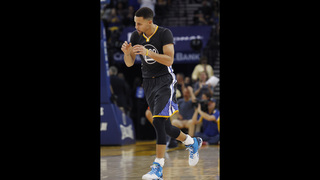 Warriors win 41st straight home game, 116-108 over Thunder
