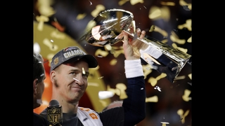 AP Photos: Denver Broncos win Super Bowl 24-10 over Carolina