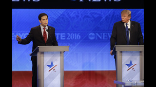 Rubio comes under withering criticism in Republican debate