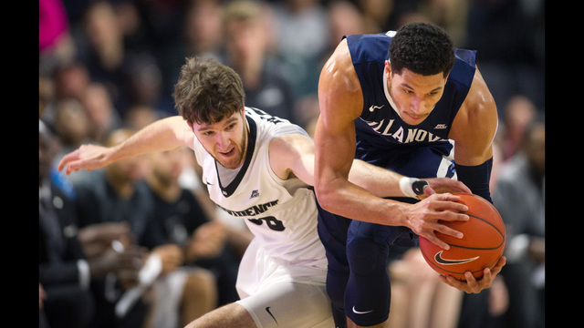 Villanova No. 1 in AP college hoops poll for first time