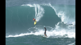Big-wave surfers gather in Hawaii for prestigious event