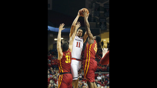 Texas Tech upsets No. 14 Iowa State 85-82 in OT