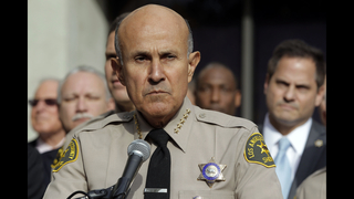Prosecutor: Ex-LA sheriff to plead guilty in corruption case