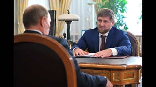 Chechen leader threatens foes in bid to gain Putin