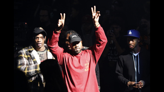 The volume cranked, Kanye West drops album, Yeezy collection