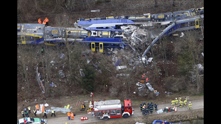Cleanup in train crash continues in southern Germany