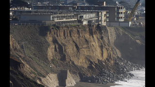 Pacifica: Residents live on the edge of crumbling cliffs