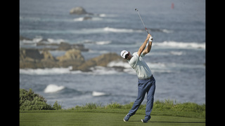 Chez Reavie takes the lead at Pebble Beach