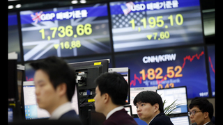 The Latest: European stocks sink, tracking Asia lower