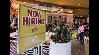 Applications for US jobless aid fell sharply last week