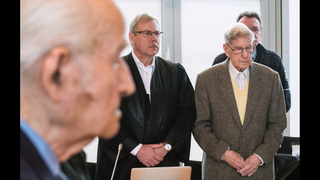 Auschwitz survivors testify at former SS sergeant
