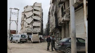 AP News Guide: Diplomats push as Syria battlefield shifts