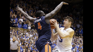 Crazy play, crazier win: Duke stuns No. 7 Virginia at buzzer