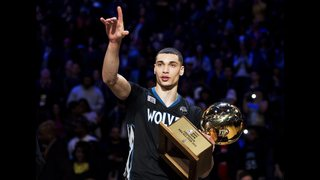 LaVine exits All-Star stage for Kobe and the NBA