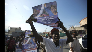Haiti lawmakers elect Senate chief as provisional president