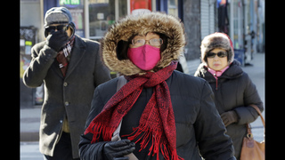 Northeast wakes up to record cold for Valentine