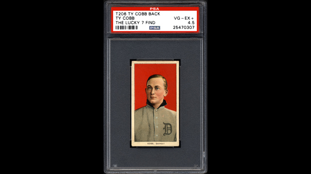 Century-old Ty Cobb baseball cards found in dilapidated house