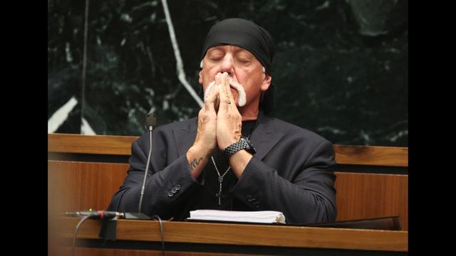 Hulk Hogan at trial