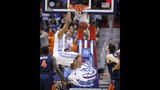 Thanks to its defense, UNC tops Virginia 61-57 for ACC title