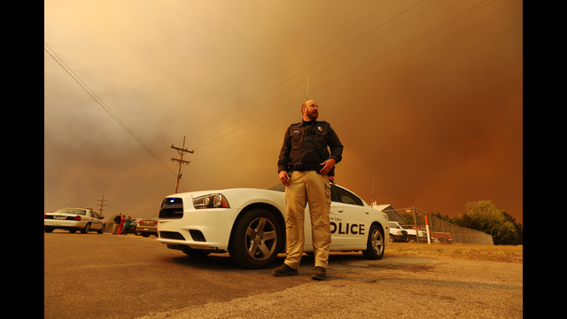 Evacuations Ordered in Kansas as Wildfire Burns Thousands of Acres
