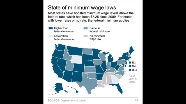 $15 minimum-wage movement sets sights on more states