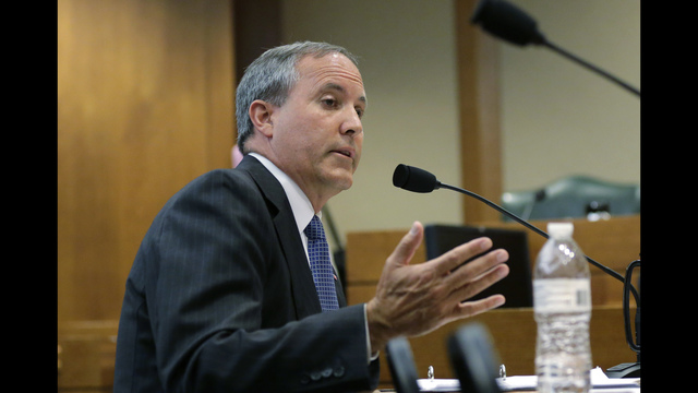 SEC charges Texas Attorney General Paxton in alleged stock scam