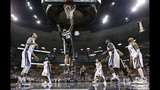 Spurs rout Grizzlies 116-95, sweep their way to semifinals