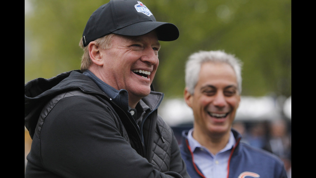 Goodell: NFL ready to move on from 'Deflategate'