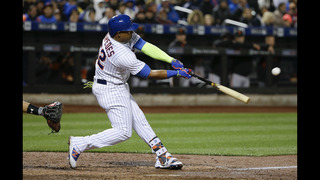 Mets set record with 12-run inning; Cespedes drives in 6