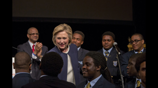 Clinton endorses all-boys public schools in high-crime areas