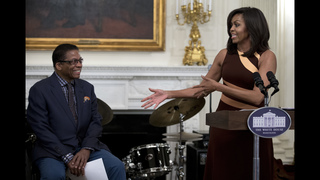 President Obama celebrates jazz at the White House