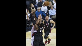 Blazers advance 4-2 with 106-103 victory over the Clippers