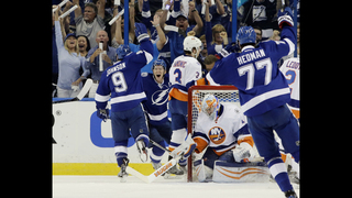 Johnson has 2 goals and assist, Lightning beat Islanders 4-1