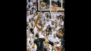 Heat roll past Hornets in Game 7, 106-73