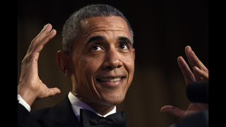 Obama out: President closes out his run as comedian-in-chief