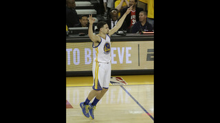 Warriors whip Portland at home in opener of West semifinals