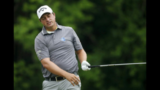Vegas, Stuard share lead in rain-delayed Zurich Classic