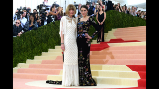 Metallics reigned on Met Gala red carpet