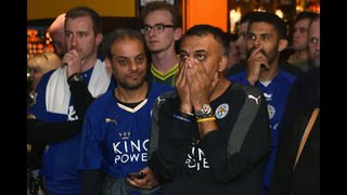 Leicester wins English title for 1st time in 132-yr history