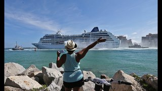 1st cruise from a US port in decades leaves Miami for Cuba