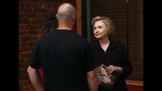 Clinton faces tough crowd in West Virginia coal country